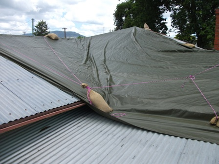 Tarped Roof - 2